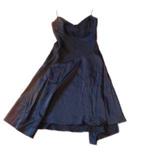 Nicole miller sophisticated Black prom dress